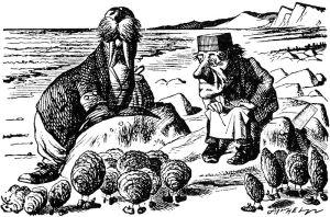 The Walrus and the Carpenter, by original illustrator John Tenniel